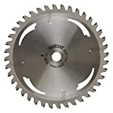 Wolfcraft 6521000 - lama per troncatrici 40 denti Ø 205 mm, serie argento