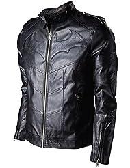 Batman Arkham Chevalier Imitation veste cuir noir