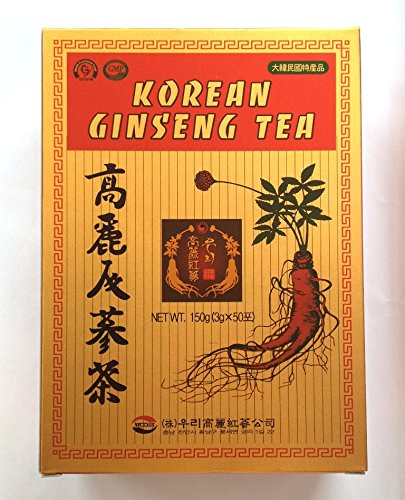 Korean Ginseng Tea 3g x 50 Bags Energy Drink Instant-Tee