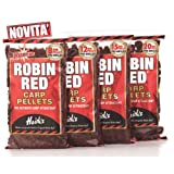 Dynamite Baits Robin Red 12mm Pre-Drill Carp Pellets UK POST ONLY