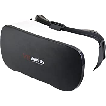 WiMiUS 3D VR Android all in one, Virtual Reality Headset Box WiFi Glasses Virtual for PC FHD movies and panoramic images, Support WiFi + Bluetooth (5.1 + Nibiru Andriod operating system)