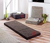 'MATERASSO pieghevole materasso pieghevole materasso letto per gli ospiti 'Trend in marrone immagine