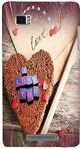 PrintVisa Love Hearts Cake Case Cover for Lenovo Vibe Z K910