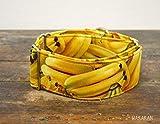 Collar Martingale Para Perro: Banana, Hecho a Mano en España por Wakakán