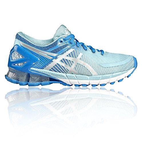 ASICS Gel-Kinsei 6, Chaussures de Tennis Femme, Multicolore (Diva Blue/Silver/Aqua Splash), 35.5 EU