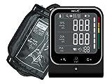 smartLAB pressure W Oberarm Blutdruckmessgerät Schwarz mit Bluetooth