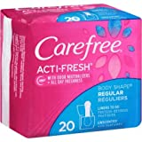 Carefree Body Shape Pantiliners To Go Regular Unscented 20 CT (PACK OF 2)