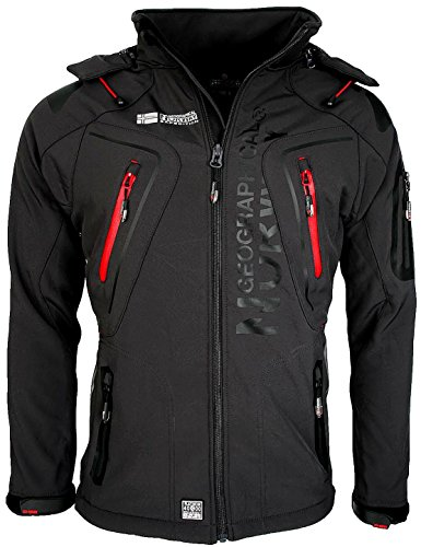 Giacca Giubbotto Uomo Geographical Norway Tangata Men Jacket Men (M, ANTRACITE)
