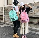 SEBAS Home Persönlichkeit Rucksäcke High School Student Bag Casual Schultasche Rucksack mit großer Kapazität