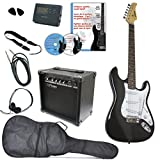 E-Gitarre Rock'n'Roll, Clifton 12-teiliges MEGA-Set