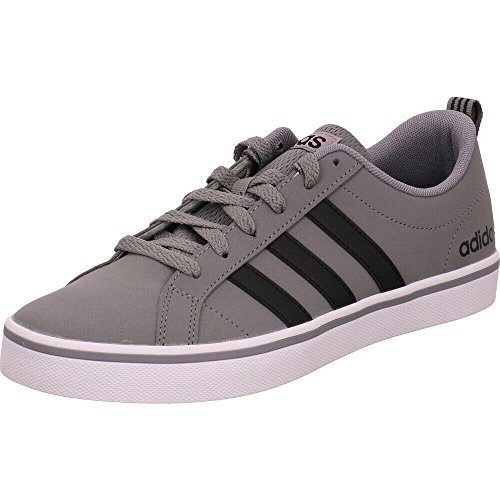 adidas Herren Vs Pace Sneaker, Grau (Grey/Core Black/Footwear White 0), 42 EU
