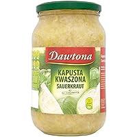 Dawtona Chucrut - Kapusta Kwaszona (900g) (Paquete de 6)