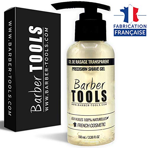 ✮ BARBER TOOLS ✮ Gel afeitado transparente 100