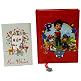Paw Patrol Agenda Scolaire 12 Mois Rouge