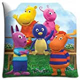 18x18 inch 45x45 cm bedding pillow cases Polyester + Cotton Custom Decorate The Backyardigans
