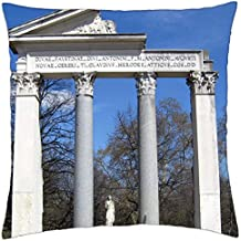 Templo Romano..–Funda de almohada manta (18