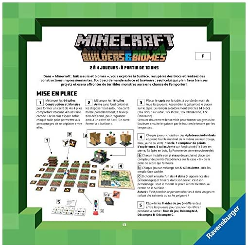 Ravensburger-26132-Minecraft-Builders-Biomes