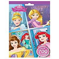 New Disney Princess Characters Set of 700 Stickers 9 Sheets by Disney