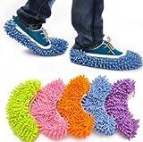 Fireangels pezzi (5paia), in microfibra, scarpe copertura–facile per casa pavimento polvere sporco pulizia per capelli (colore casuale)