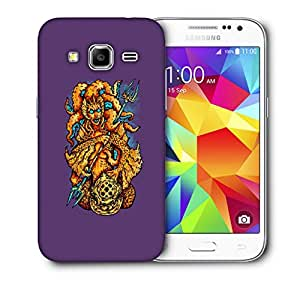 Snoogg Ugly Mermaid Designer Protective Back Case Cover For Samsung Galaxy Core Prime