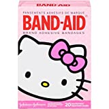 Band-Aid Brand Adhesive Bandages, Hello Kitty Decorated Bandages, 20 Count by Band-Aid