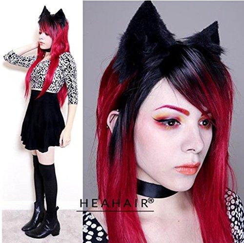 heahairr-new-fashion-femmes-fashion-noir-ombre-rouge-ondules-perruque-lace-front-synthetique-noue