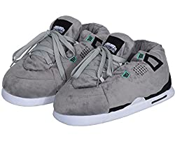 Coucharmy Jay Four Hausschuhe Home Sneakers (S-XL) (L=43-44, Grey/Black)