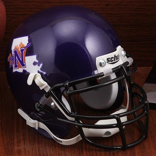 Schutt NCAA Northwestern State Demons Unisex NCAA Northwestern State Louisiana Demons Football Helmet Desk Caddyncaa Northwestern State Louisiana Demons Football Helmet Desk Caddy, Classic, N