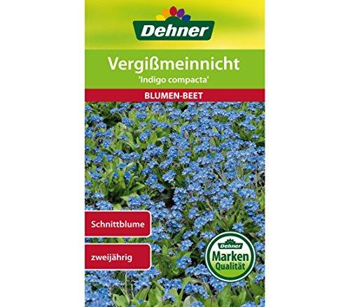 "Dehner Blumen-Saatgut, Vergißmeinnicht \""Indigo compacta\"", 5er pack (5 x 0.7 g)"