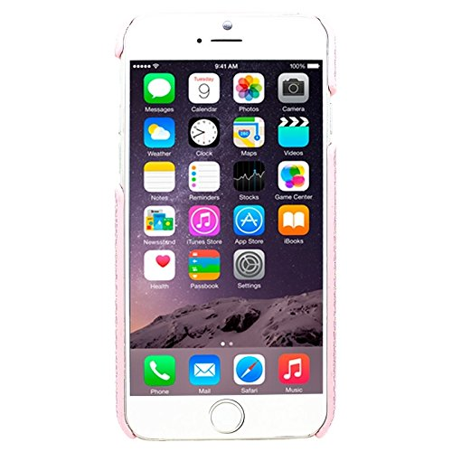 Für iPhone 6 Plus & 6S Plus, Shimmering Powder Galvanisieren Kunststoff Hard Case DEXING ( Color : Pink ) Pink