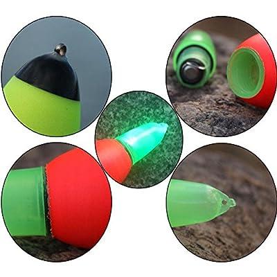 UKBIOLOGY 1PC Fishing Float Night Accessories Tool Led Luminous Fishing float Electronic Glowing Fishing Stick by UKBIOLOGY