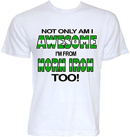 Beat Tees Clothing - T-shirt - Homme Blanc Green, White - Blanc - XX-Large