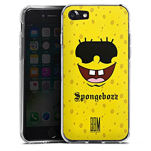 Apple iPhone X Silikon Hülle Case Schutzhülle Spongebozz BBM Fanartikel Merchandise Silikon Case transparent