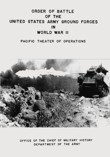 Order of Battle of the United States Army Ground Forces in World War II: Pacific Theater of Operations
