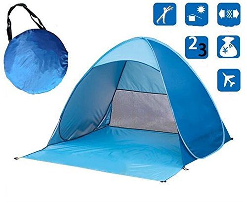 Sun Shade Outdoor Camping Zelt Wandern Strand Sommer Zelt UV-Schutz vollautomatische Sonnenschutz tragbare Pop-up-Strand-Zelt