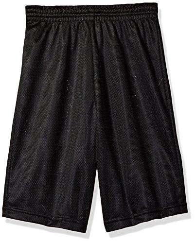Augusta Kinder Jugend, mit Mini-Mesh-League-Short Größe L Schwarz - Augusta Sportswear Mesh Shorts