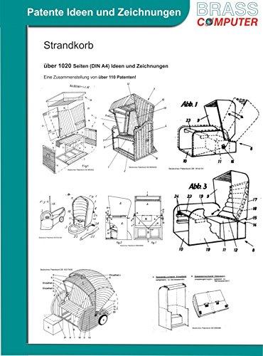 Strandkorb, Strandkörbe selber bauen, ca. 1010 Seiten (DIN A4) Ideen und Zeichnungen