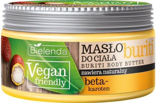 Bielenda VEGAN Friendly BURITI pflegende Körperbutter mit Beta-Carotin 250 ml