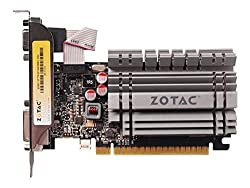 ZOTAC GeForce GT 730 Low Profile 4GB 64-Bit DDR3 PCI Express 2.0 x16 x8 lanes Graphics Card ZT-71115-20L