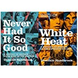 Dominic Sandbrook Collection, Never Had it so Good and White Heat - Sealed Set of 2 Books