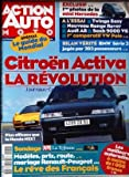 ACTION AUTO MOTO [No 6] du 01/10/1994 - CITROEN ACTIVA - LA REVOLUTION - PLUS EFFICACE QUE HONDA NSX MINI MERCEDES ESSAI TWINGO...