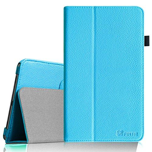 Fintie Samsung Galaxy Tab 4 8.0 Hülle Case - Slim Fit Folio Kunstleder Schutzhülle Cover Tasche mit Ständerfunktion für Samsung Galaxy Tab 4 8.0 SM-T330 SM-T335 (mit Auto Schlaf / Wach Funktion), Blau