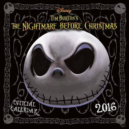 The Official Nightmare Before Christmas 2016 Square Calendar (Calendar 2016)