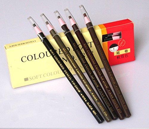 5 pièces Cexin Crayon à soucile étanche durable
