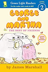 George and Martha: The Best of Friends (George & Martha Early Readers (Green Light Readers Quality))