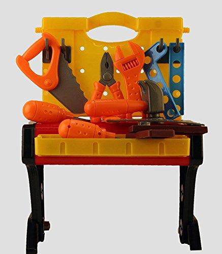 2 in 1 Werkbank und Werkzeug Kit für die kleinen Handwerker