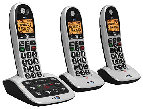 BT 4600 Big Button Advanced Call Blocker Cordless Home Phone with Answer Machine (Trio Handset Pack) Test