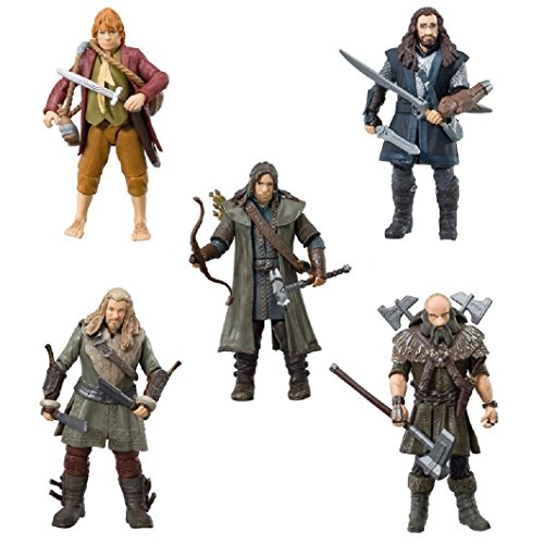 Hobbit - Pack De 5 Figuras 9 Cm BD16061