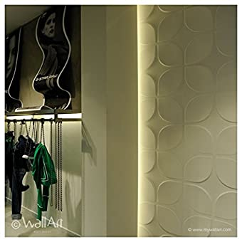 Wall Decor – Paneles 3d Wallart sweeps Dal design moderno Ed accattivante unidades de m².3