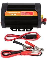 MVPOWER Convertisseur Transformateur 12v 220v Convertisseur Onduleur Electrique 300W avec Port USB pour Voiture (300w)